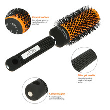 Abody Ceramic&Nylon Round Hair Brush Barber Hairdressing Salon Styling Tools Curly Hairbrush Massage Bomb Quiff Roller Comb