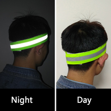 Night Running Headband Absorb sweat Dance Headband Safety Nigh Unisex Woman and Man Antiperspirant Hair band