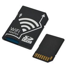Wifi SD Card Adapter Micro SD MicroSD TF Converter for SONY Canon Nikon Cameras Photos Wirelessly to Phone Tablets