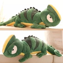 2016 big kawaii lizard plush toys chameleon plush dolls giant stuffed animal for birthday gift(China)