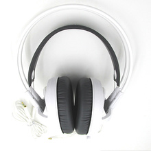 White Color Headset New Headphones Steelseries Siberia V3 Brand Noise Isolating Game Headphones For Headphone Gamer