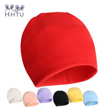 HHTU Winter Autumn Crochet Baby Hat Girl Boy Cap Cotton Scarf Beanie Infant knitted toddlers Children Brand Newborn Accessories