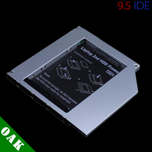 Aluminum 9.5mm IDE to SATA Second HDD Caddy 2.5'' SATA 2nd HDD Caddy for Laptop High Quality - Dropshipping
