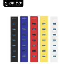 ORICO High Speed New 7 Ports HUB With USB 3.0 Easy Your PC and Your Life with Colorful H7013-U3-V1(China)
