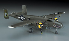 "Toys 1/72 Kyohko Hasegawa B-25J ""Mitchell"" medium bomber Assembly model(China)"