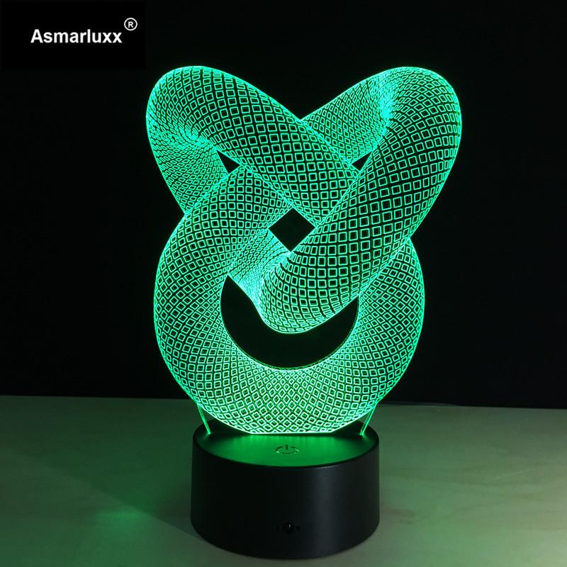 Asmarluxx 3d led lamp20041