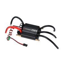 Original Flycolor Waterproof 150A Brushless ESC Electronic Speed Controller with 5.5V/5A BEC for RC Boat Parts(China)