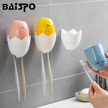 Suit Toothbrush-Holder Bathroom-Sets-Sets Storage-Container Cute Wash BAISPO Gargle Creative
