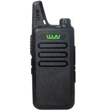 WLN KD-C1 UHF 400-470 MHz MINI handheld transceiver two way Ham Radio communicator Walkie Talkie Compact station handy talky