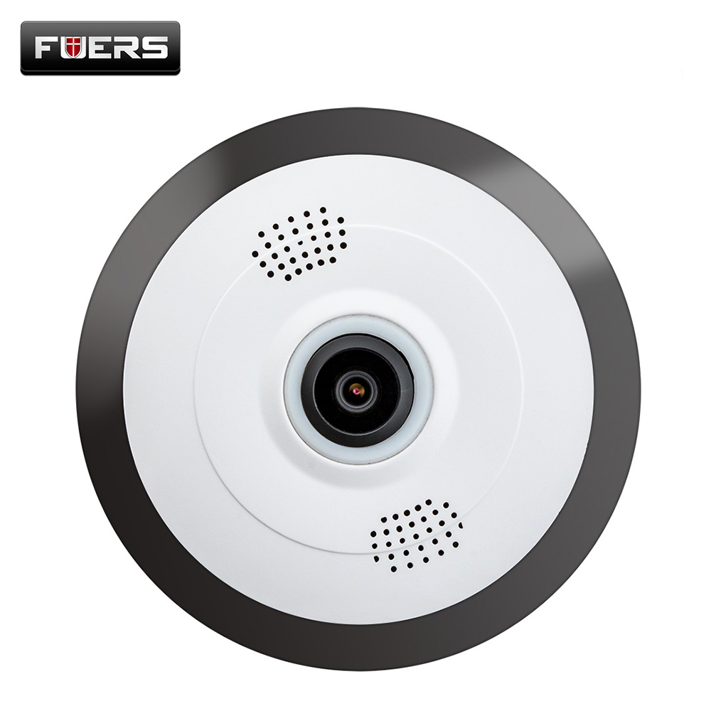 IP Camera WiFi Fisheye HD 360 Degree Security Panoramic Home Surveillance 960P