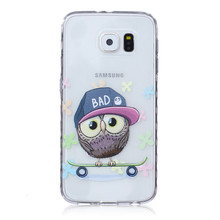 For Samsung S5 Case Slim Colorful 3D Printed Soft  TPU Case Cover For Samsung S7 S6 S6 Edge Plus S5 Mini S4 S3 Mini i9190 i8190