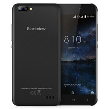 Original Blackview A7 Smartphone Android 7.0 5.0 inch MTK6580A 1GB RAM 8GB ROM 0.3MP+5.0MP Dual Rear Cams IPS Mobile Cellphone(China)