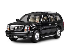 1:24 Welly Cadillac Escalade SUV Diecast Model Toy Car Vehicle Black New In Box