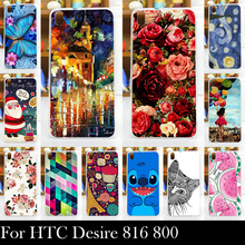 Hard Plastic Case For HTC Desire 816 800 D816W Mobile Phone Cover Bag Cellphone Housing Shell Skin Mask Shipping Free(China)
