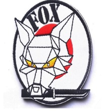 FOX Embroidery armband Hound Patches 3D Cloth Tactical armband Loop And Hook Military Morale Armband Army Combat Badge(China)