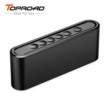 TOPROAD Portable Bluetooth Speaker Wireless Stereo bluetooth 4.2 Aux Micro SD MP3 Player Handsfree U-disk altavoz for Phone PC(China)