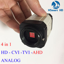 New 4in1 HD OSD Camera 2.0MP 1080P CCTV HD CVI AHD TVI Analog Mini Box Security Color Camera
