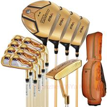 PGM Supreme Golf Club Set 13clubs Titanium For Men With Golf Bag Driver+2Woods+Hybird+8Irons+Putter+Stand BagPackage+Head Covers