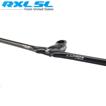 RXL SL Carbon Handlebar mtb Cycling Handlebars Carbon Bar Flat Integrated Handle bar Bicycle accessoires Black 3K Gloss JL8815