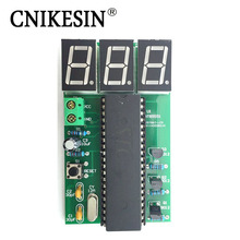 CNIKESIN Interesting LED Digital Counting Board Making Simple Installation Digital Tube Counter DIY Electronic Production Kit(China)
