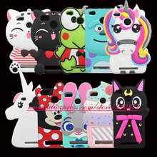 For Xiaomi Redmi 4X 5.0 inch 3D Silicon Stitch Cat Cupcake Unicorn Cartoon Soft Phone Case Cover for Xiaomi redmi 4X Pro Redmi4X