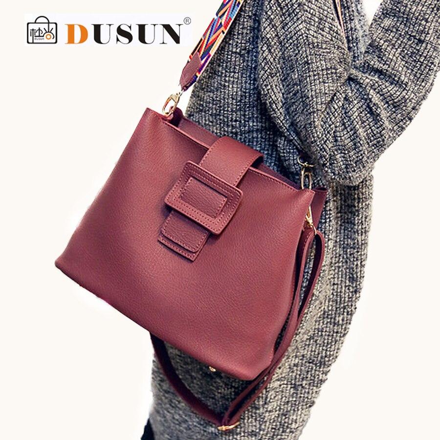 DUSUN Luxury Bucket Bag Handbag Woman Messenger Women Famous Design Color Shoulder Strap Handbags Feminina Casual Tote Bag<br><br>Aliexpress