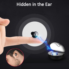 Wireless Bluetooth Heart Earphone Car Driving Business Music Charging Box Headphones Headset earbuds with Mic for lovers gifts(China)