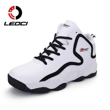 Basketball Boots Men Women Sport Shoes Men Trainers Anti-slip Outdoor Athletics Sneakers High Top Boys Basketball Shoes Cheap(China)