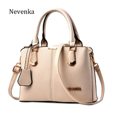 Nevenka Women Bag Lady Handbag OL Style Shoulder Bags Casual Zipper Messenger Bags PU Leather Bag Brand Name Tote Satchel Sac(China)