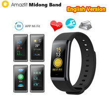 [English Version] Xiaomi Amazfit Cor MiDong Smart Wristband Color IPS Screen Heart Rate Monitor Fitness Tracker Waterproof 50m(China)