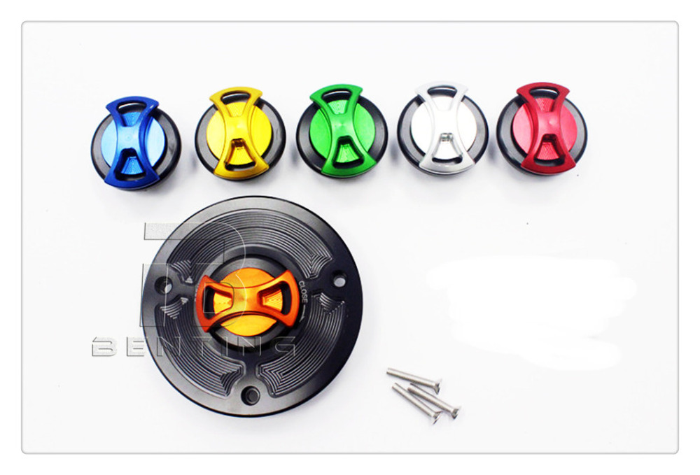 CNC Billet Motorcycle Keyless Gas Fuel Tank Cap Cover For KTM 125 200 390 Duke <br>