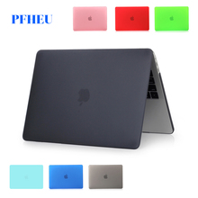 Fashion frosted laptop case for Apple macbook 11 12 13 15 inch Air Pro Retina cover bag &2016 new model A1706/A1707/A1708