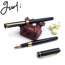 Guoyi360 Brand Fountain pen. 0.5mm nib ink pen.  School Gifts Stationery Office Learning Student Business Gift Pen