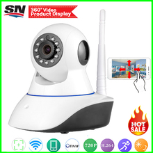 Hot Style!360 Cam App 100W 130W Security Network CCTV wifi vidicon Wireless 1.0 1.3Megapixel HD Digital Security ip camera IR(China)