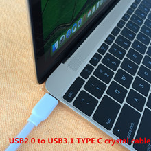 USB3.1 TYPE C cable Charging and data sync Applicable to usb-c cavo aux rxiaomi mi3 mi4c redmi note 2 power bank remax jack lg4