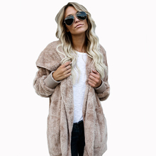YJSFG HOUSE Both Sides Wear Faux Fur Long Winter Jacket Women 2017 Autumn Winter Warm Coat Thicken Hooded Parka Women Outwear