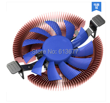 Ultra-thin 28mm height for 1U 2U HTPC, 8cm fan, Ultra-Slient, Intel LGA775 1150, AMD 940/AM3/FM1/FM2 CPU cooler, PcCooler E86