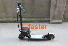 "350W Electric Scooter For Company Workers Or Students DIY 8"" Electric Kickscooter Hub Motor E-Scooter Front and Rear Suspension(China)"