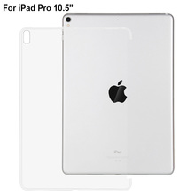 "For iPad Pro 10.5 inch Case Ultra-thin Crystal Clear TPU Back Soft Protect Cover For New iPad 2017 iPad Pro 10.5"" Tablet Case"