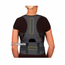 Magnetic Posture Corrector for Men Women Magnetic Therapy Corset Back Straightener Shoulder Belt Correcteur De Posture AFT-B002