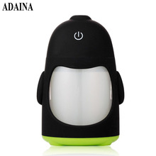 5V USB Powered Kids Room LED Lamp Penguin Night Light Air Humidifier Cool Mist Aroma Humidifier for Office Bedroom Baby Room