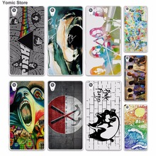 rock music Pink Floyd groups the wall (1) skin hard White phone case cover for Sony Xperia z5 z4 z3 z2 z1 M5 M4 Aqua XA(China)