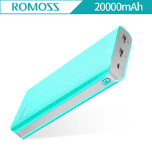 Buy ROMOSS Sense 6 LED 20000mAh Power Bank 20000mAh Charger Dual USB Output Bank Charger Sense6 LED iPhone 7 plus xiaomi Samsung for $21.18 in AliExpress store