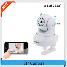 Hot!Wanscam HW0024 IP PTZ Camera Wi-fi HD 720P Dual Audio P2P Remote Baby Monitor IR-Cut Surveillance Wifi Camera Indoor IP Cam