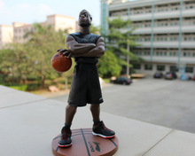 Free Shipping Basketball NBA Star Dwyane Wade Action figure Doll Toy Figure 25cm PVC puppet
