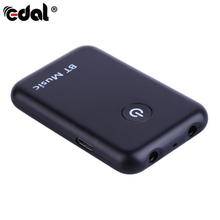 EDAL 2in1 Bluetooth Transmitter Receiver 3.5mm Stereo Wireless Music Audio Cable Dongle Bluetooth V4.2 Adapter TV DVD Mp3 PC