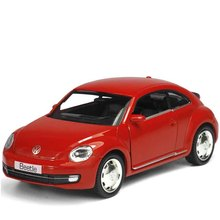 Brand New 1/36 Scale Germany Volkswagen Vw Classic Beetle Bug Diecast Metal Pull Back Car Model Toy For Gift/Children(China)