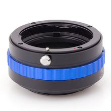 Pixco VA Blue Lens Adapter suit for Nikon G Mount Lens to Fuji FX camera X-T1X-A1X-E2X-M1X-E1X-Pro1(China)