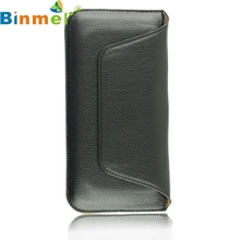 Top Quality New Soft Leather Magnetic Flap Case Pouch with Belt Clip for Apple iPhone 6 6G 4.7''