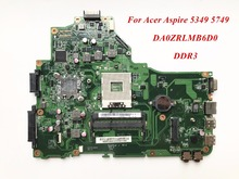 Hot Sale And High Quality Product For Acer Aspire 5349 5749 Laptop Motherboard MBRR706001 DA0ZRLMB6D0 DDR3 100% Tested(China)